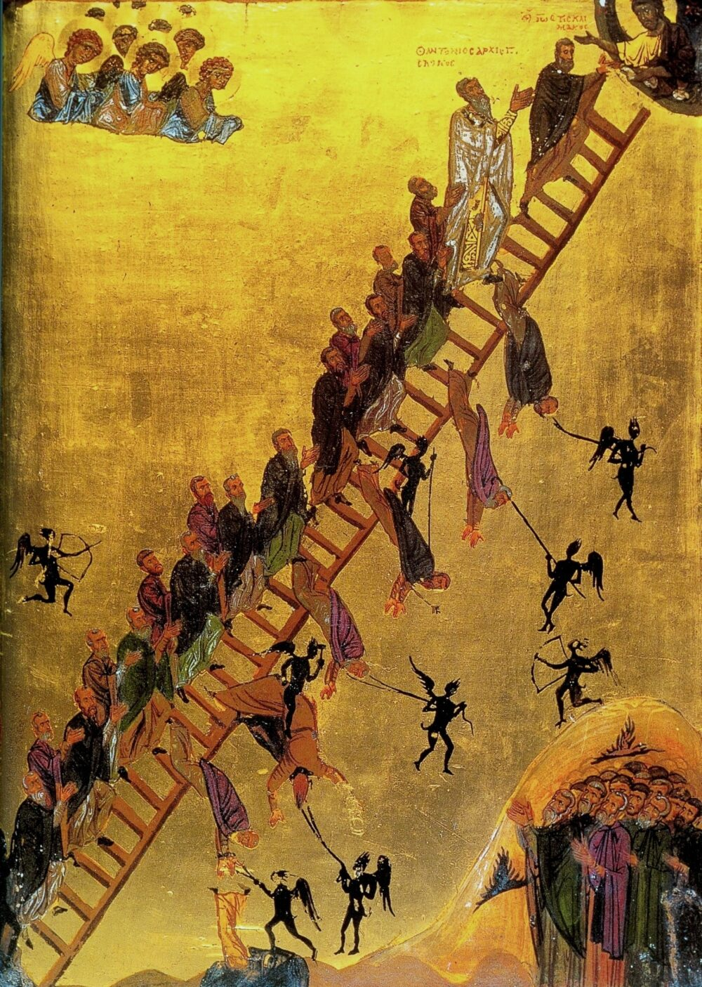 The Ladder of Divine Ascent Monastery of St Catherine Sinai 12th century